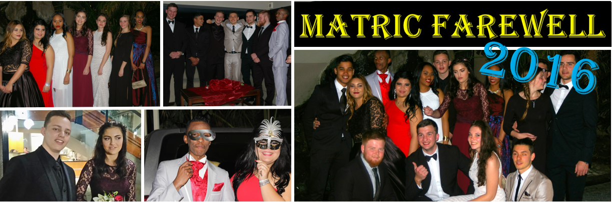 Matric Farewell 2016 Banner